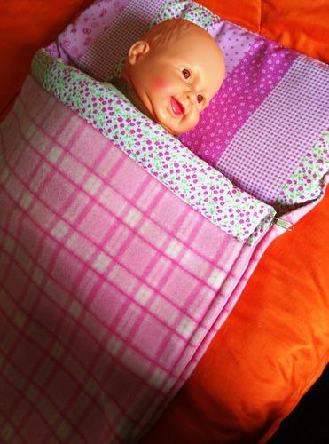 frazada térmica tipo sobre para bebés: novedad !!