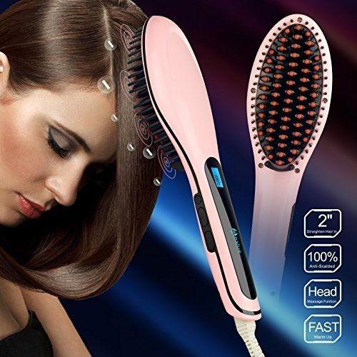 f/real c.civico cepillo, peine y alisador eléctrico