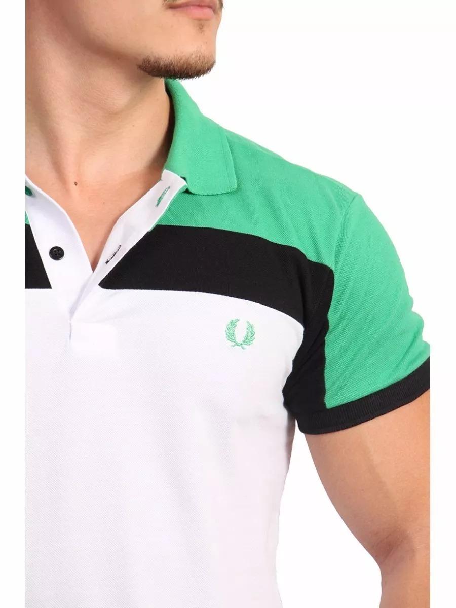ac192e7bd2 Fred Perry 100% Original Camisa Polo Social Armani Fred Perr - R ...