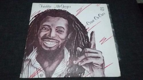 freddie mcgregor come on over lp vinilo reggae