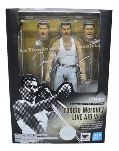freddie mercury live aid bandai figuarts figura de lujo