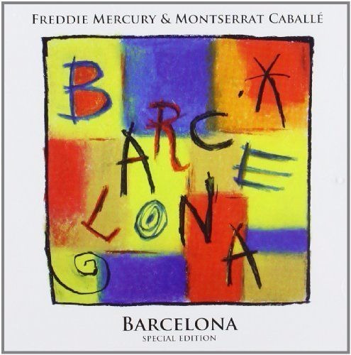 freddie mercury & montserrat caballe barcelona novo cd