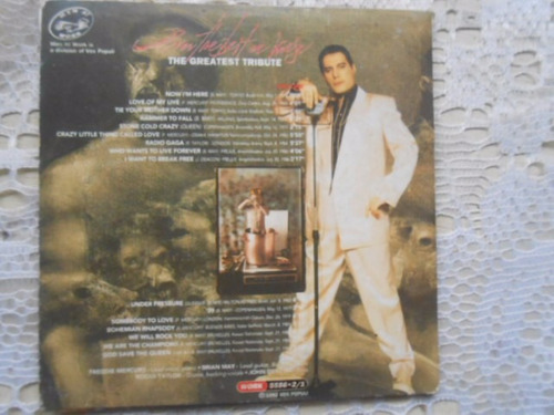freddie mercury tribute cd raro único no ml