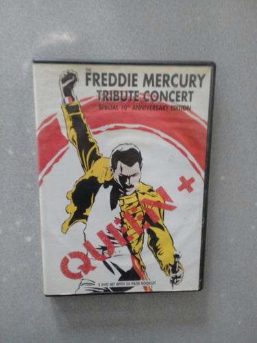 freddie queen + tribute concert 2dvd tributo freddie mercury