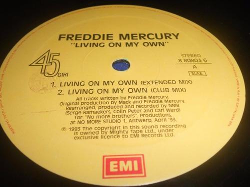 freddy mercury maxi 12  (primera edcion usa )
