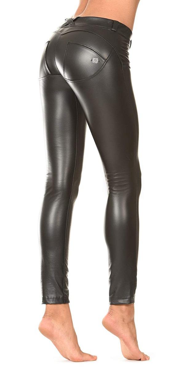 Pantalones Wr Effect Freddy Eco Ajustad up Cuero Skinny nPkX80wO