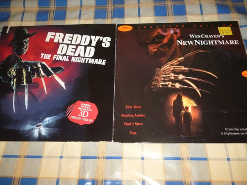 freddys dead the final nightmare + lentes / new nightmare
