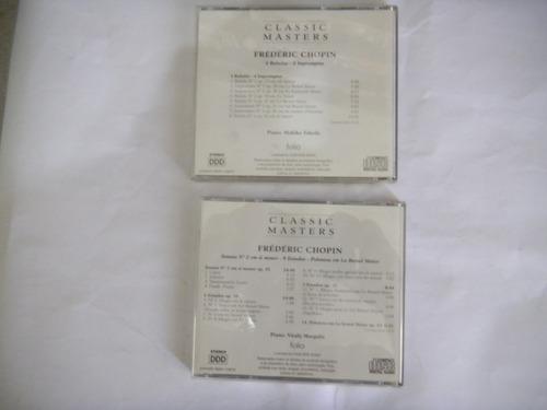 frédéric chopin - 2 cds