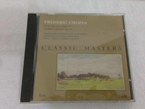 frédéric chopin cd classic masters
