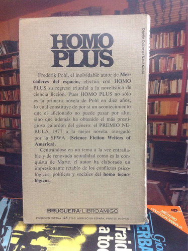 frederik pohl. homo plus. novela