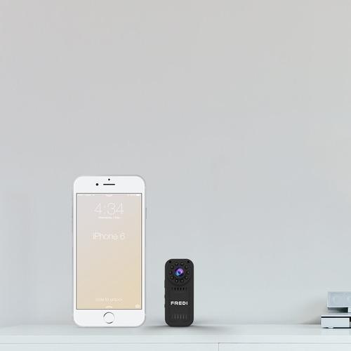 fredi mini cámara hd oculta espia 1080p interior wifi kincam