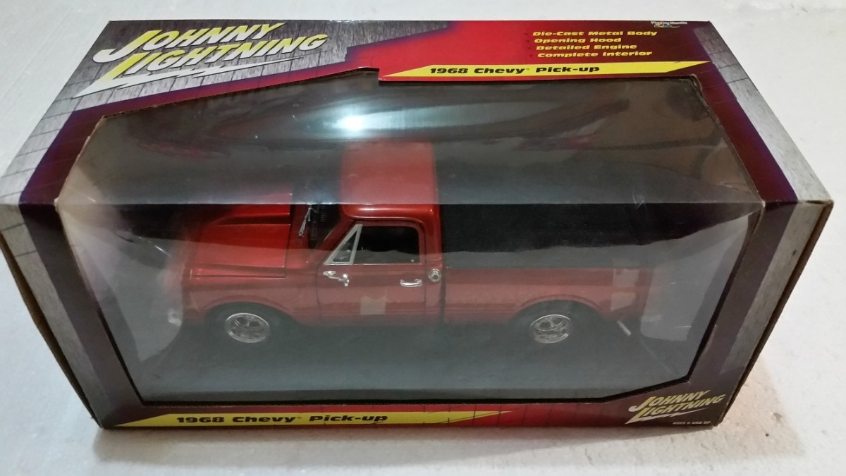 Fredshop Chevy C10 Pickup 1968 Escala 118 399900 En Mercado Libre Pick Up 4 Cargando Zoom