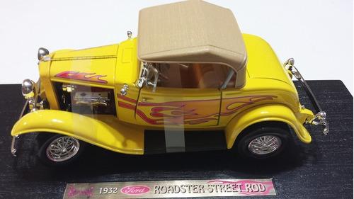 fredshop ford roadster street rod 1932 esc. 1:18