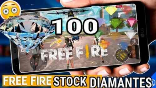 free fire 100 diamantes mas premios