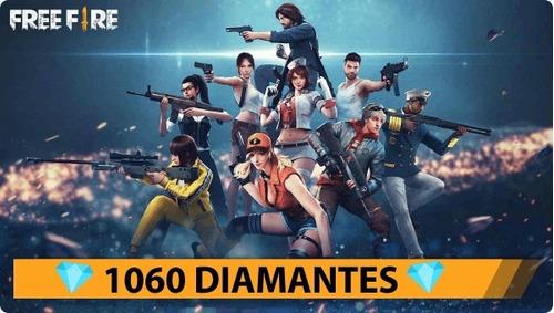free fire 1060 diamantes