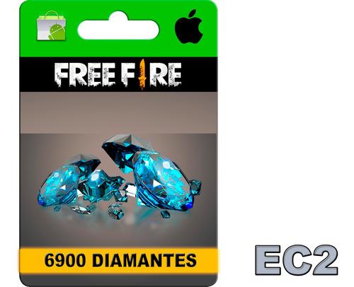 free fire 6900 diamantes - recargas de saldo google play ec2