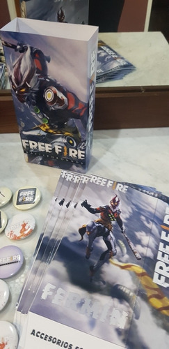 free fire lápiz free anotadorx40  + lápizx40 zona sur