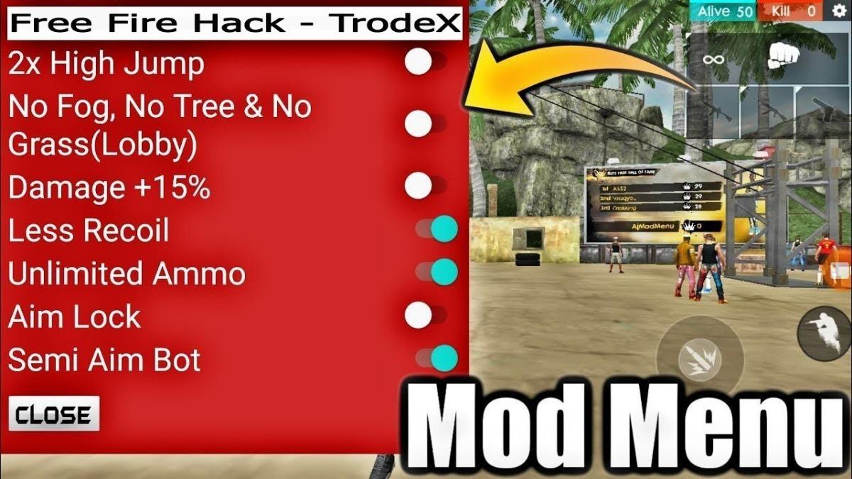 Free Fire Mod Menu Hack Apk Con Antiban
