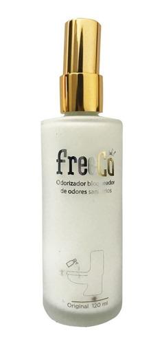 freecô bloqueador odores sanitários numero 2 sem medo 120 ml