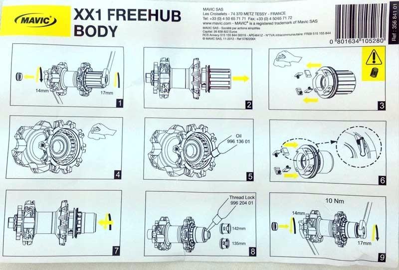 Freehub mavic xx1 sram xd mavic crossmax sl slr its4 ts2 r 52900 carregando zoom ccuart Choice Image