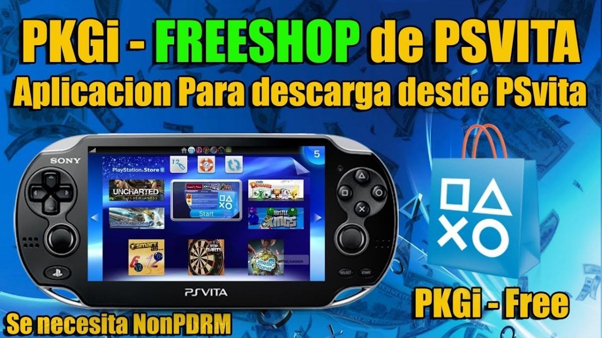 Freeshop Para Psvita 3 60 O Inferior Mas 200 Juegos Gratis 425