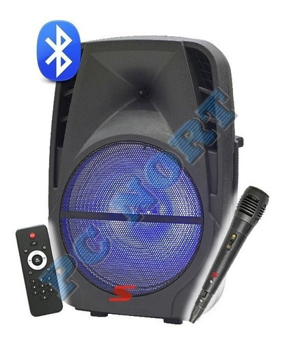 freestyle bafle senon8 bateria usb-bluetooth-tripode-mic