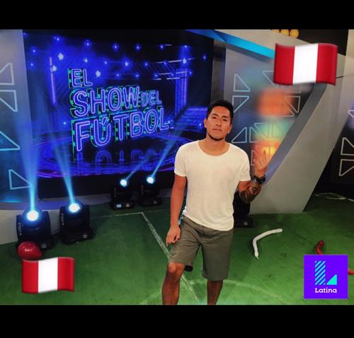 freestyle football show/ maniobras con el balón/show futbol