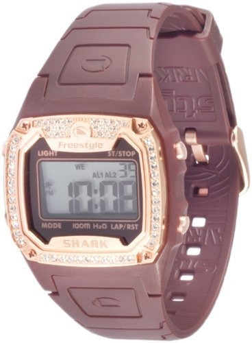freestyle women's 101080 shark classic rectangle shark reloj