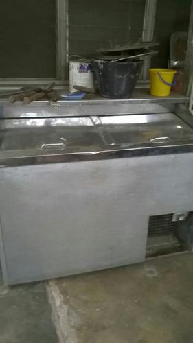 freezer con motor dañado