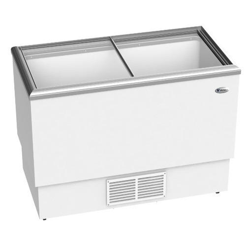 freezer congelador venax com tampa de vidro fvtv 300 litros