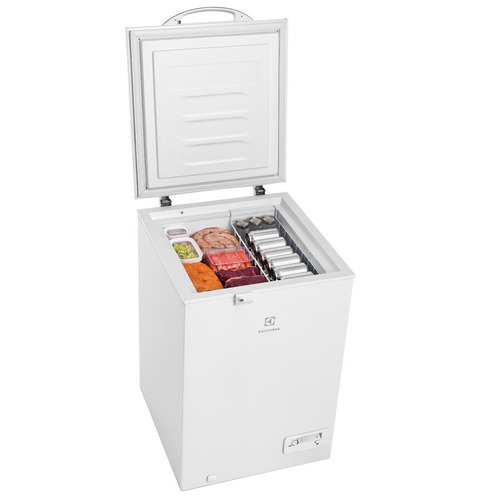 freezer electrolux 110v cycle defrost 149l branco h162