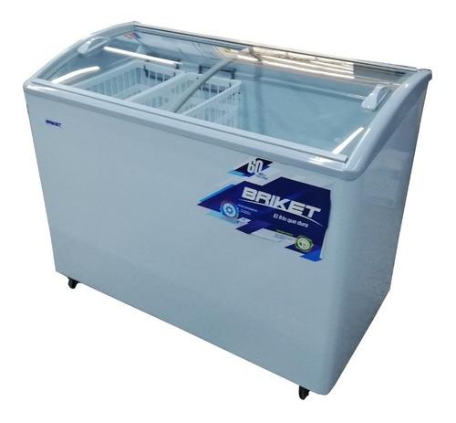 freezer exhibidor helados briket 3300 tapa vidrio ahora 12