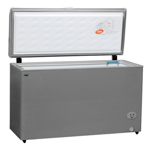freezer gafa 399 litros xl410 plata gris