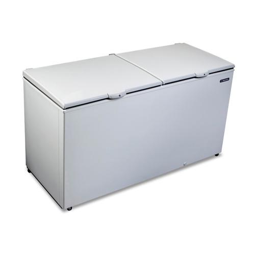 freezer horizontal com chave 546 litros 110v da550 metalfrio