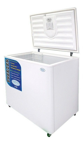 freezer horizontal de pozo fam f240dg 232 lts funcion dual
