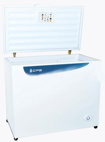 freezer horizontal dual cfg 340 lts 2 canastos con cerradura