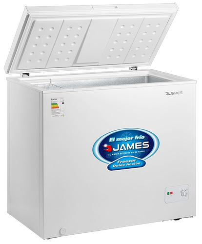 freezer horizontal james j150 doble accion gtia 2 años pcm