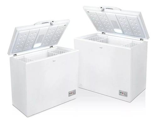 freezer horizontal midea cf-mc10war1 290 lts blanco cuotas