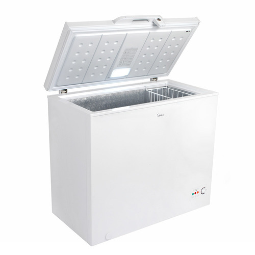 freezer horizontal midea mfh 1980 198 lt