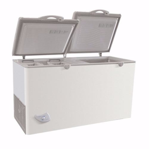 freezer horizontal pozo briket fr 4500 dual tropical 400 lts