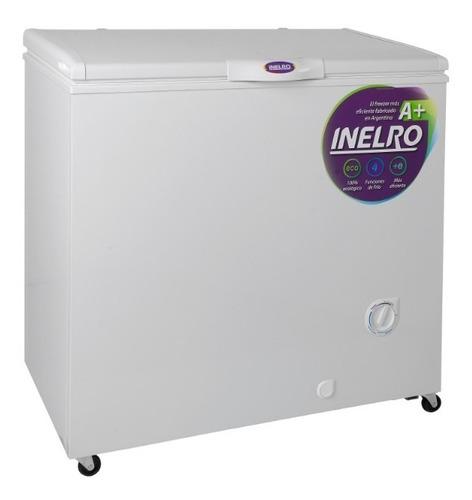 freezer horizontal pozo inelro 215 litros fih270a blanco