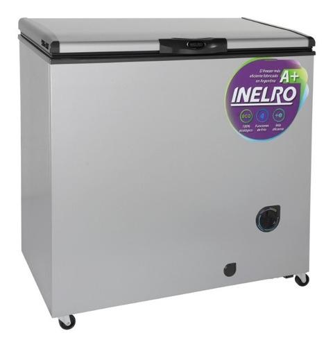freezer horizontal pozo inelro 215 litros fih270p gris