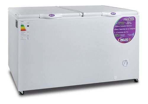 freezer horizontal pozo inelro fih550 520 lts dual ahora 12