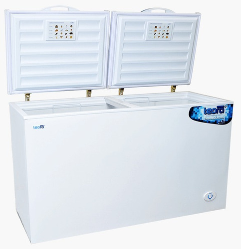 freezer horizontal pozo teora fh550 542 lts funcion dual