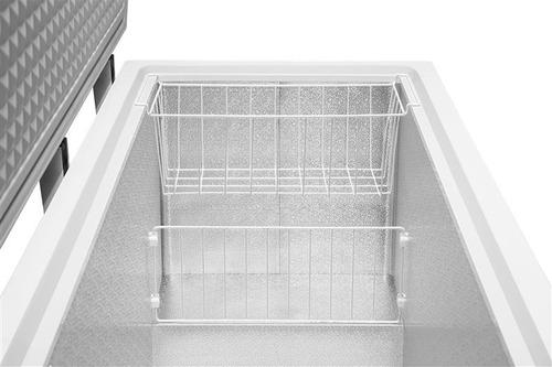 freezer horizontal uma porta midea - 415l - rcfa41 - 127v