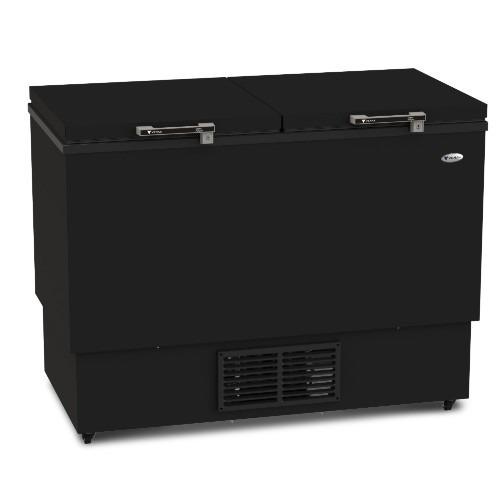 freezer horizontal venax chdm 300 litros preto fosco 220v