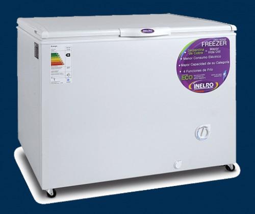 freezer inelro 350 lts. fih350 - aj hogar