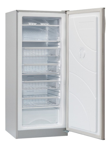 freezer vertical briket fv6220 226 lts 5 cajones color gris