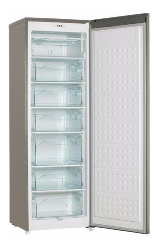 freezer vertical electrolux efup315yamg plata 240 litros