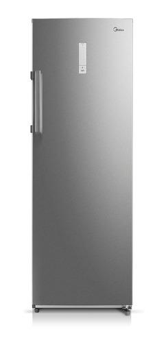 freezer vertical no frost midea 230 lts inox